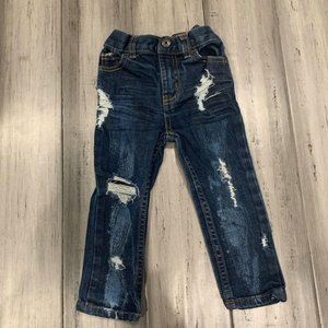 Boutique Destroyed Ripped Skinny Jeans